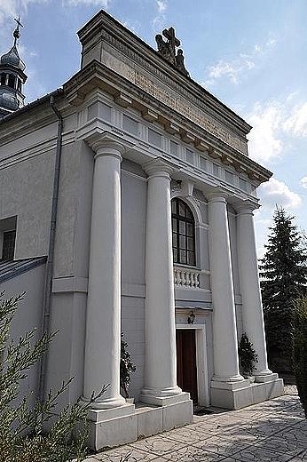 Krzyżanowice Dolne - kościół św.Tekli